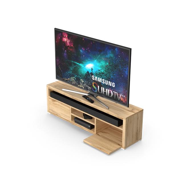 Modern TV Cabinet PNG & PSD Images