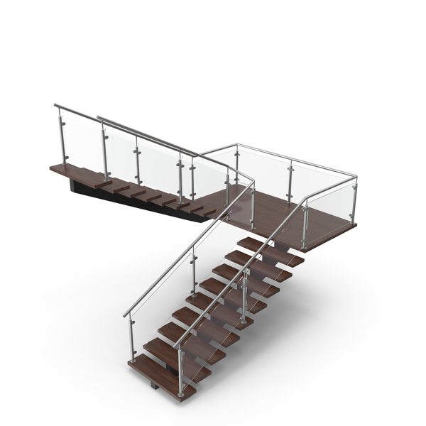Modern U Stair PNG & PSD Images
