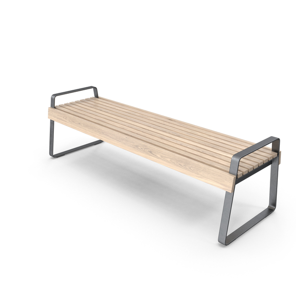 Modern Wooden Bench PNG & PSD Images