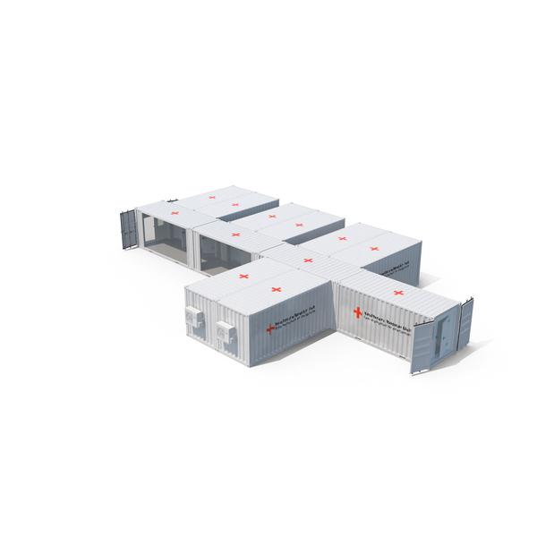 Modular Hospital PNG & PSD Images