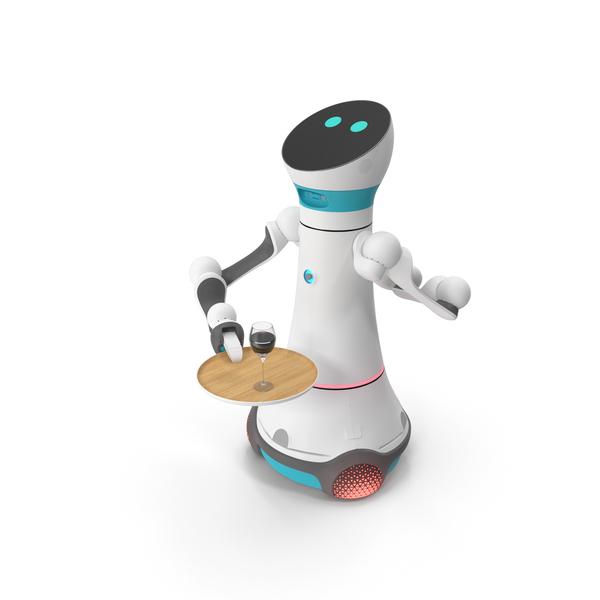 Modular Service Robot Bartender PNG & PSD Images