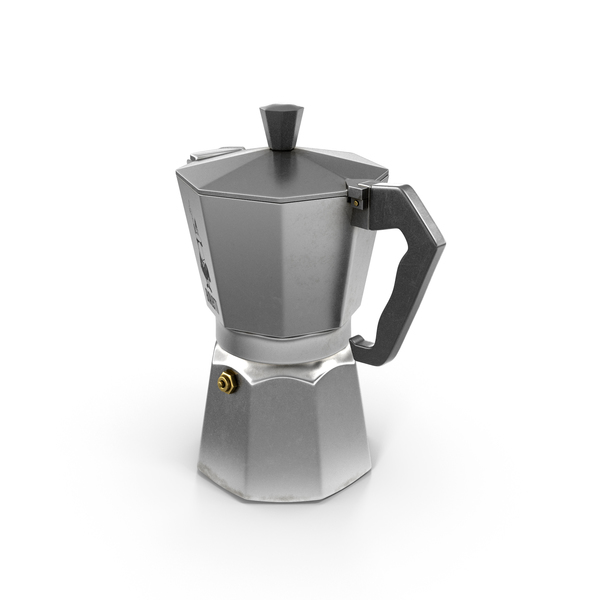 Coffee Maker: Moka Bialetti PNG & PSD Images