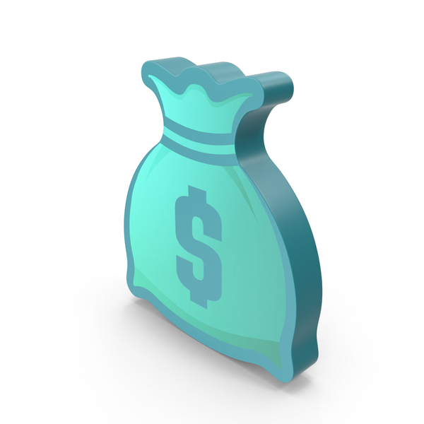 Money Bag Symbol Color PNG & PSD Images