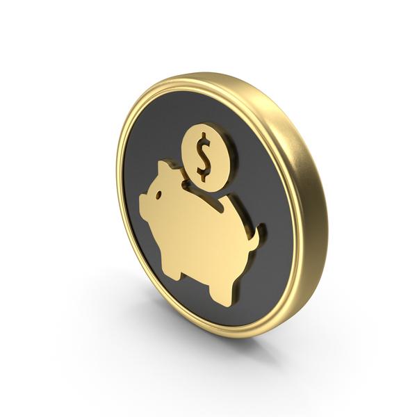 Piggy: Money Bank Saving Coin Logo PNG & PSD Images