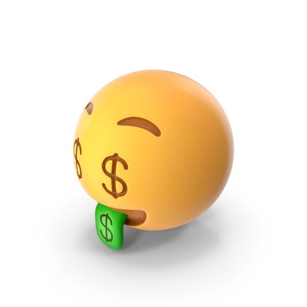 Money Face Emoji PNG & PSD Images