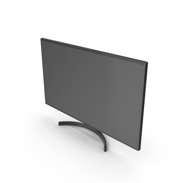 Monitor PNG & PSD Images