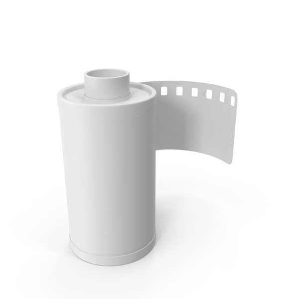 Monochrome 35mm Film Roll PNG & PSD Images