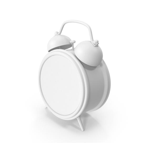 Monochrome Alarm Clock PNG & PSD Images