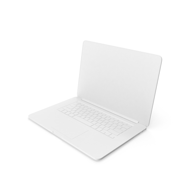 Monochrome Apple MacBook Pro PNG & PSD Images