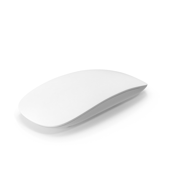 Monochrome Apple Magic Mouse PNG & PSD Images