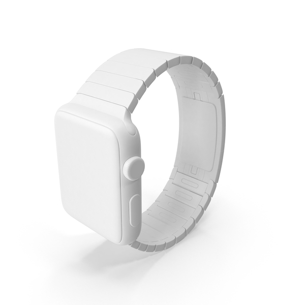 Smart: Monochrome Apple Watch PNG & PSD Images