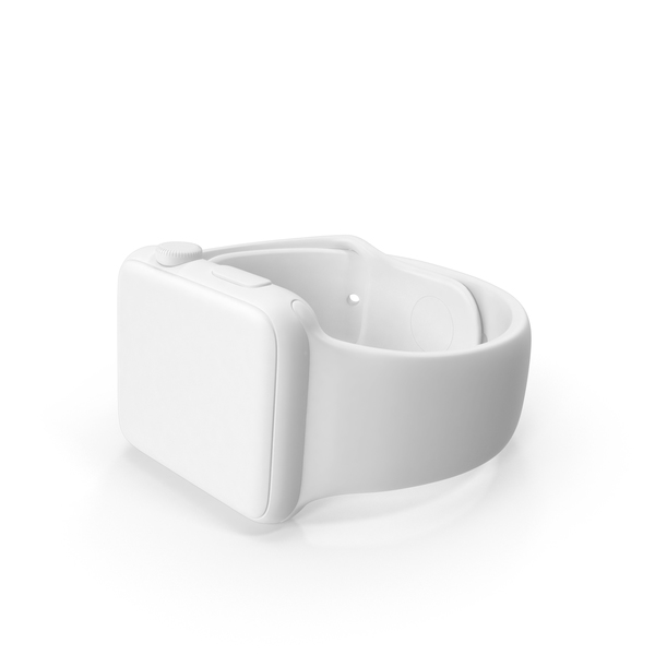 Monochrome Apple Watch Sport PNG & PSD Images