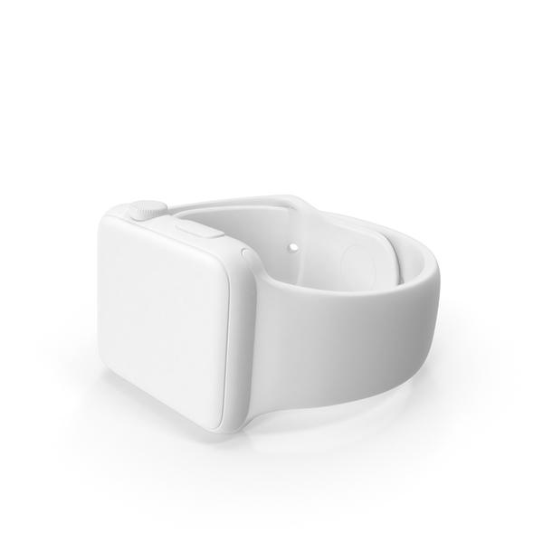 Smart: Monochrome Apple Watch Sport PNG & PSD Images
