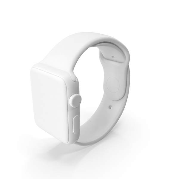Smart: Monochrome Apple Watch Sport PNG & PSD Images