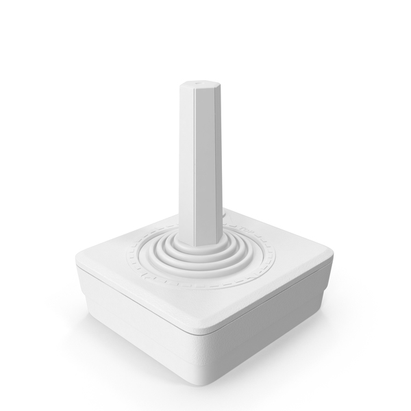 Monochrome Atari 2600 Joystick Object