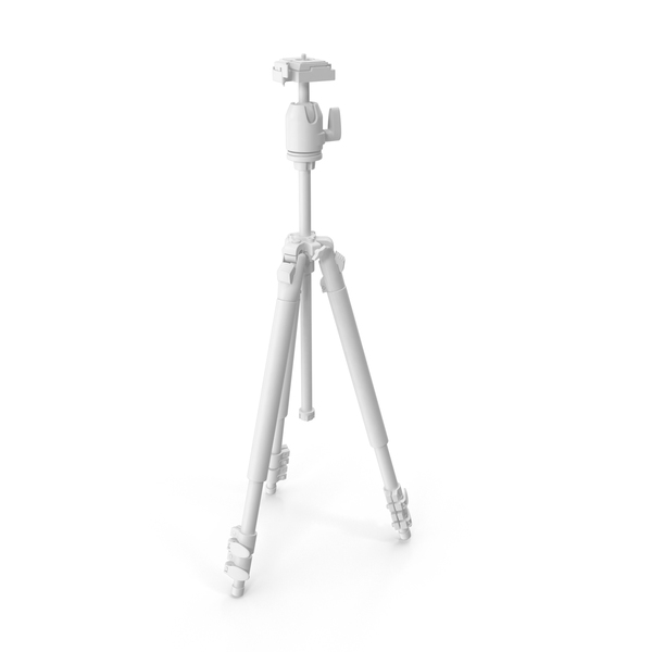 Monochrome Camera Tripod PNG & PSD Images