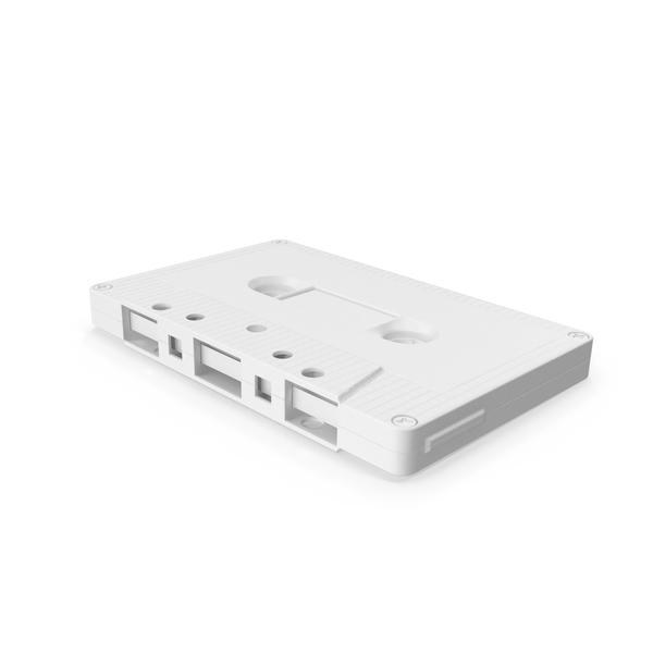 Monochrome Cassette Tape PNG & PSD Images