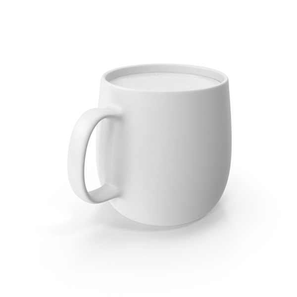 Cup: Monochrome Coffee Mug PNG & PSD Images