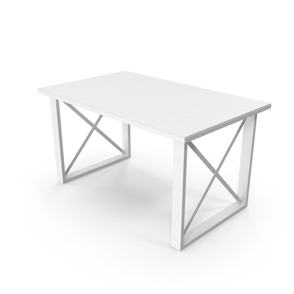 Monochrome Desk Object