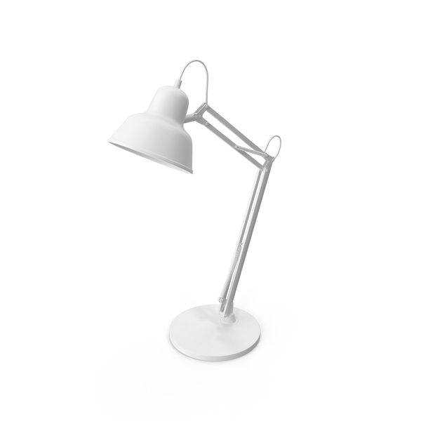Monochrome Desk Lamp PNG & PSD Images