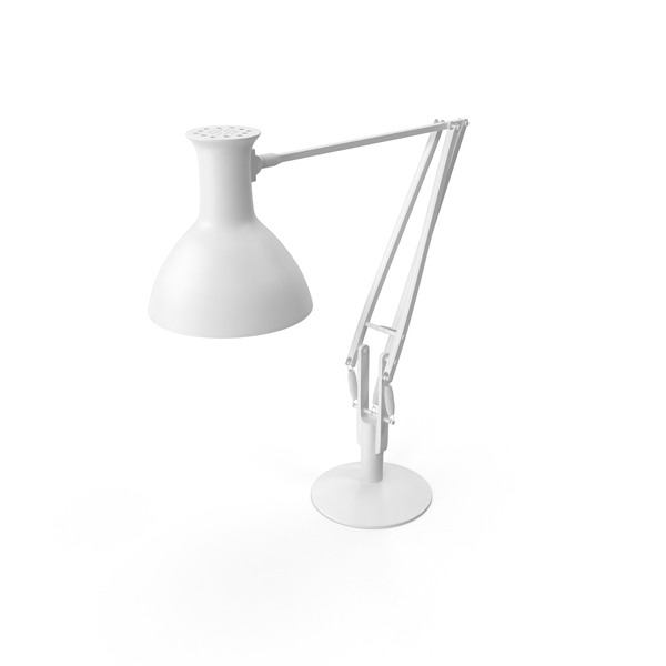 Table: Monochrome Desk Lamp PNG & PSD Images