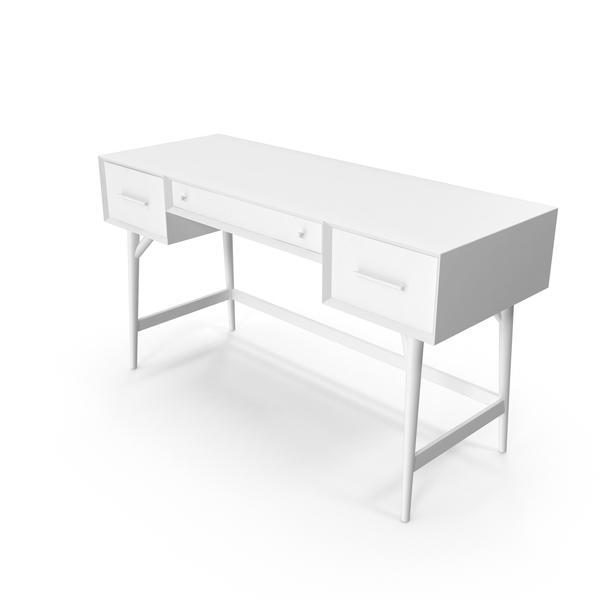 Office: Monochrome Desk PNG & PSD Images