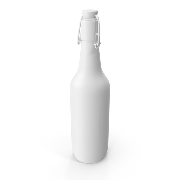 Monochrome Grolsch Bottle PNG & PSD Images