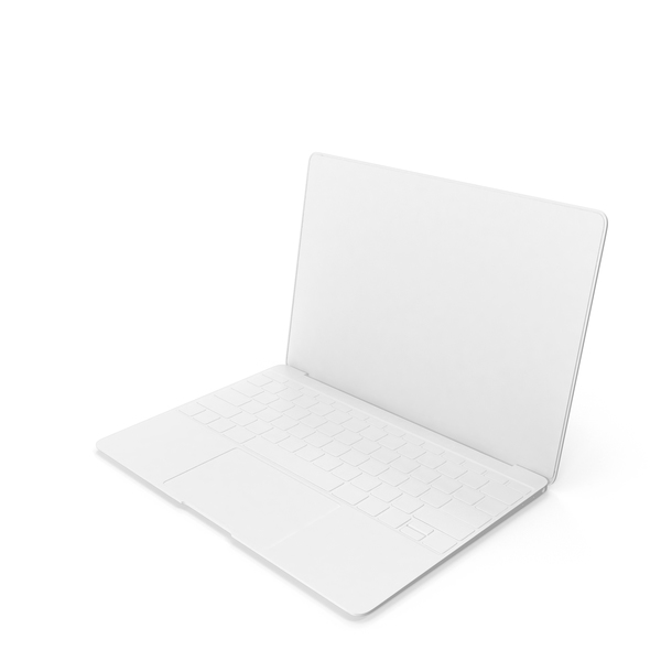 Monochrome Laptop Object