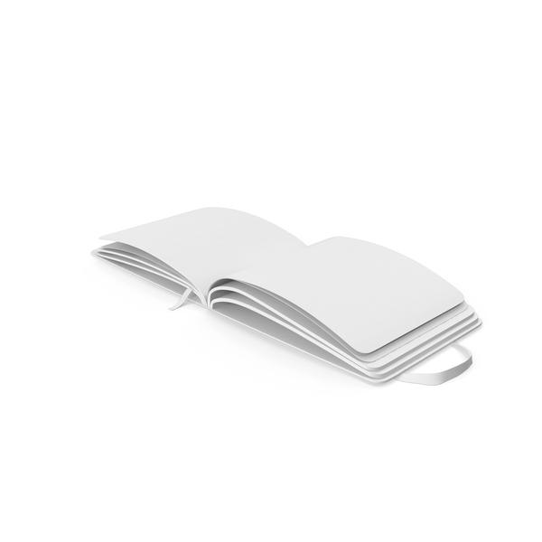 Monochrome Moleskine Sketchbook Object