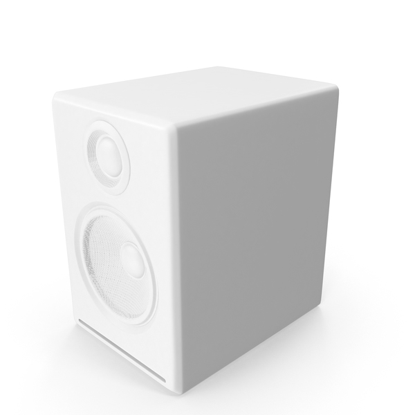 Monochrome Multimedia Speaker PNG & PSD Images