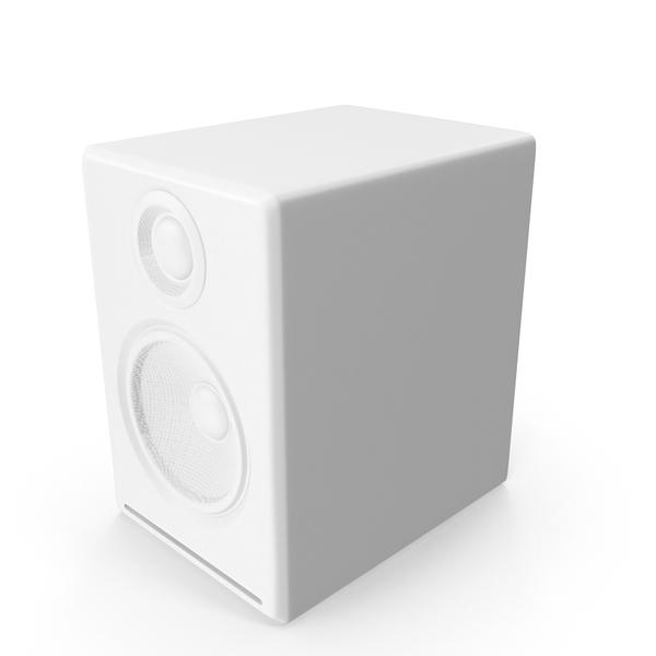 Monochrome Multimedia Speaker Object