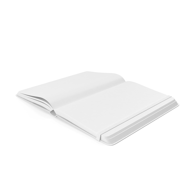 Monochrome Open Notebook PNG & PSD Images