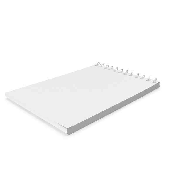 Monochrome Open Pocket Memo Pad PNG & PSD Images