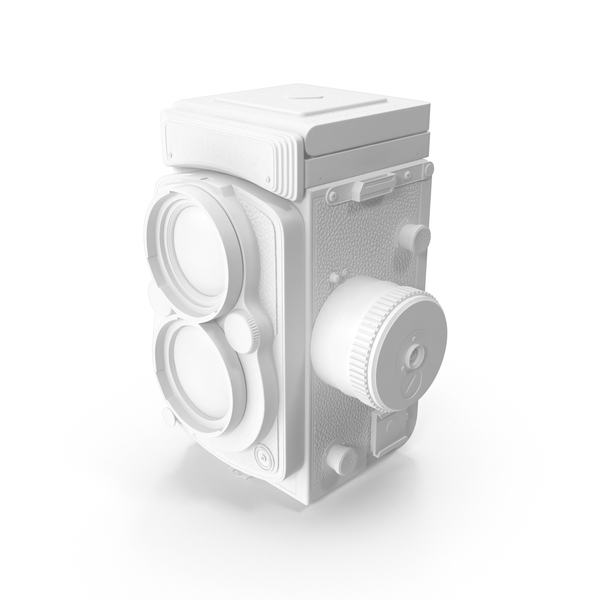 Monochrome Rolleiflex 2.8 FX Camera PNG & PSD Images