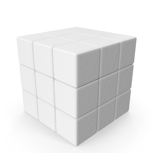 Monochrome Rubiks Cube PNG & PSD Images