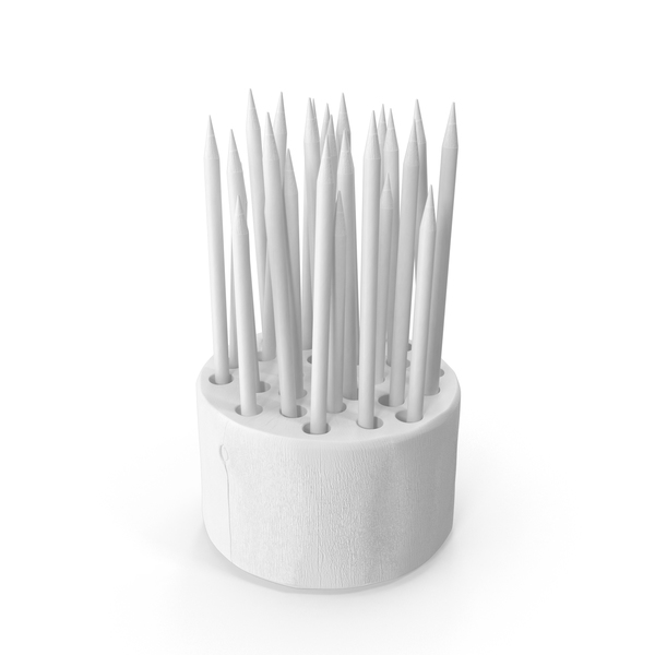 Office Supplies: Monochrome Wood Stump Pencil Holder PNG & PSD Images