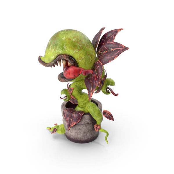 Monster Plant Green PNG & PSD Images