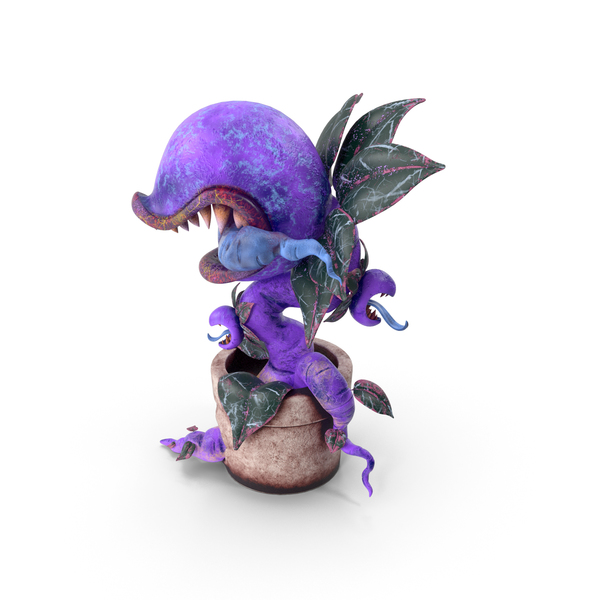 Monster Plant Purple PNG & PSD Images