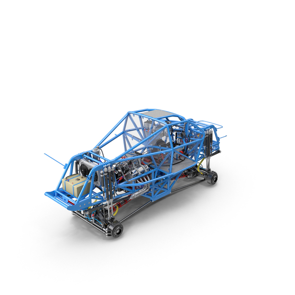 Monster Truck Chassis Object