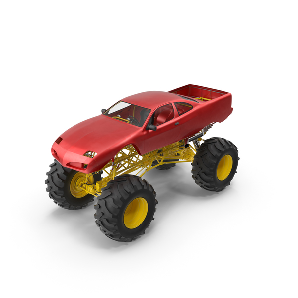 Monster Truck Object