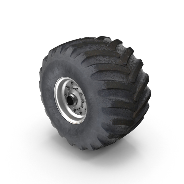 Tricycle: Monster Truck Wheel PNG & PSD Images