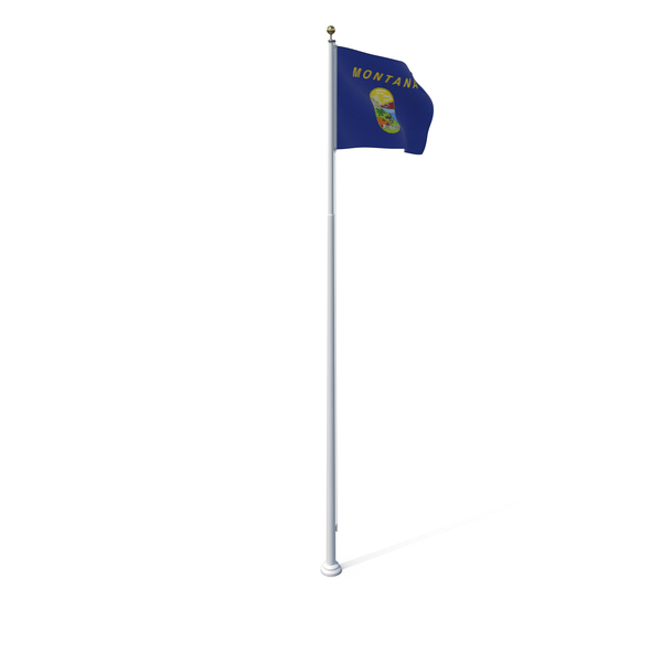 Montana State Flag PNG & PSD Images