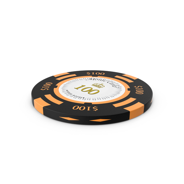 Poker Chips: Monte Carlo 100 Dollar Chip PNG & PSD Images