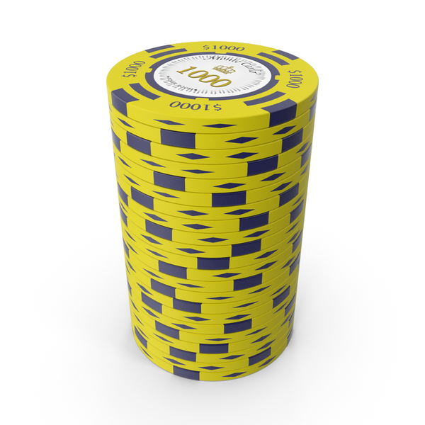 Monte Carlo $1000 Chips PNG & PSD Images