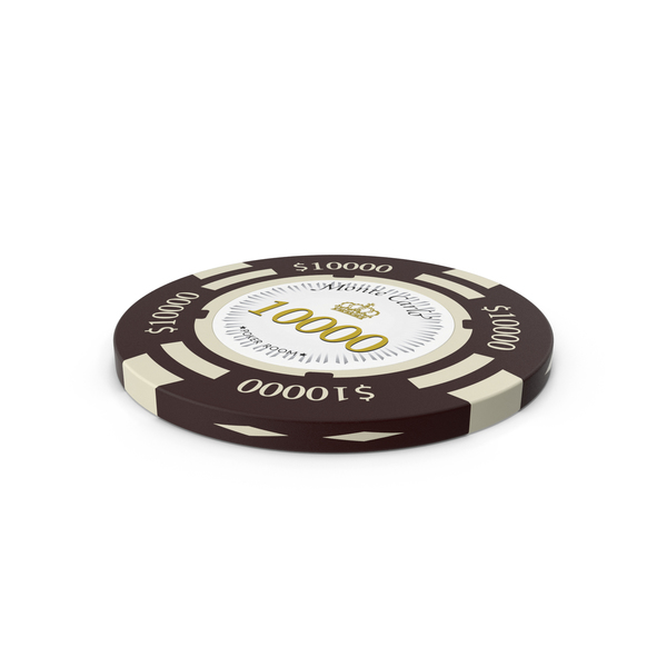 Poker Chips: Monte Carlo $10000 Chip PNG & PSD Images