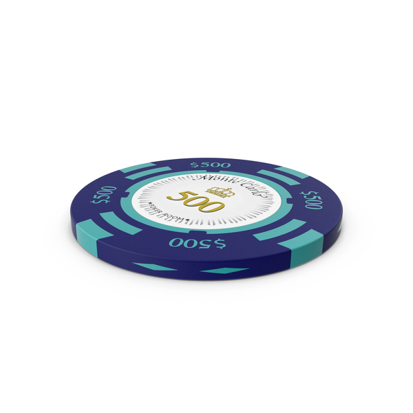 Monte Carlo 500 Dollar Chip PNG & PSD Images