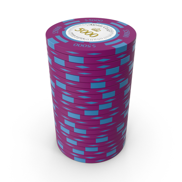 Poker: Monte Carlo $5000 Chips PNG & PSD Images
