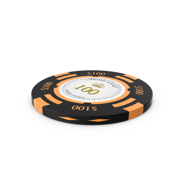 Poker Chips: Montecarlo 100 Dollar Chip PNG & PSD Images