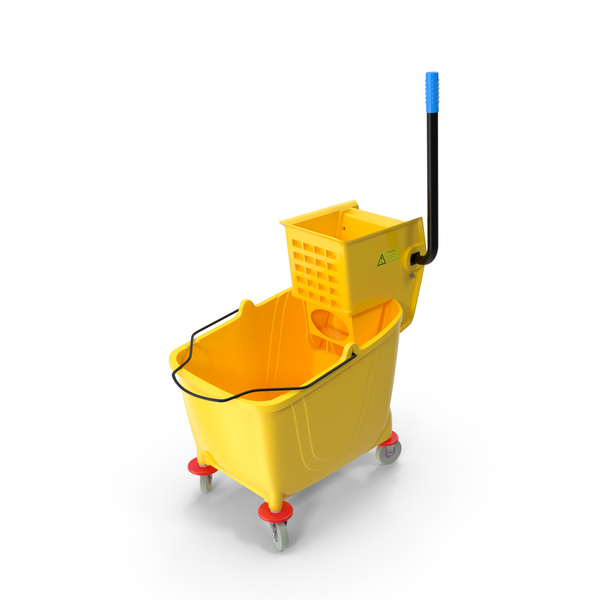 Mop Bucket PNG & PSD Images