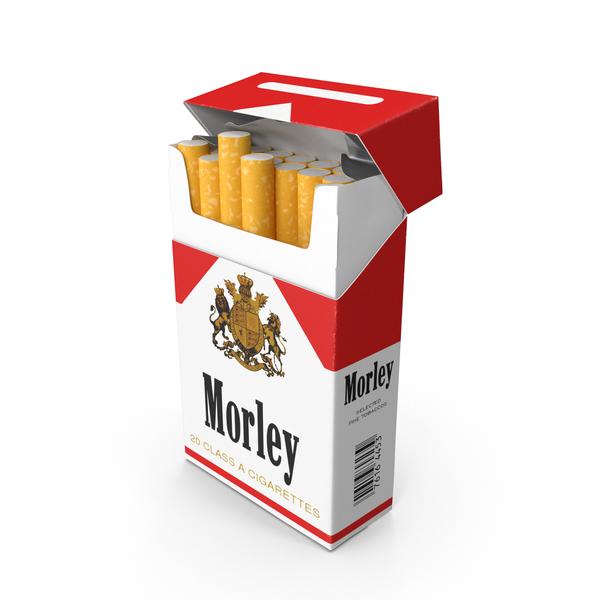 Morley Cigarette Pack PNG & PSD Images